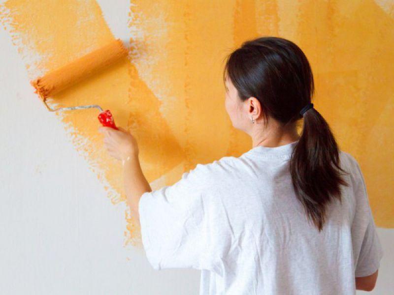 Cómo pintar las paredes interiores